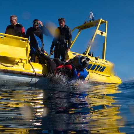 Diving from boat in Tenerife - Dive boat Gitano